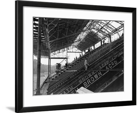 Arsenal Grandstand--Framed Art Print