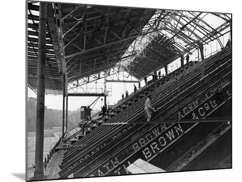 Arsenal Grandstand--Mounted Photographic Print