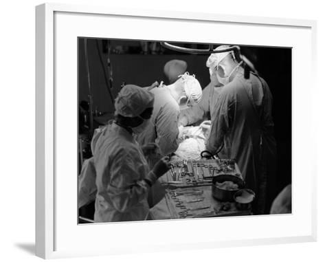 Surgical Team-H^ Armstrong Roberts-Framed Art Print