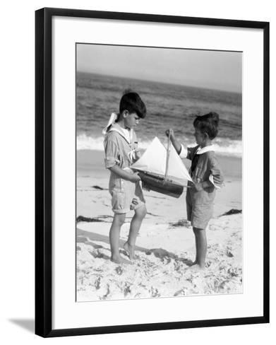 Young Sailors-H^ Armstrong Roberts-Framed Art Print