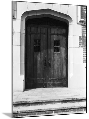 Arched Doorway and Steps-George Marks-Mounted Photographic Print