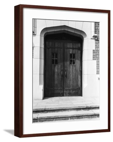 Arched Doorway and Steps-George Marks-Framed Art Print