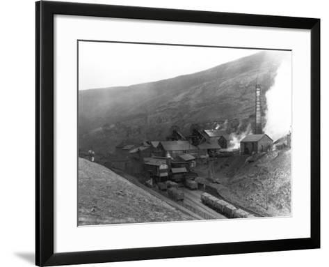 Fernhill Colliery--Framed Art Print