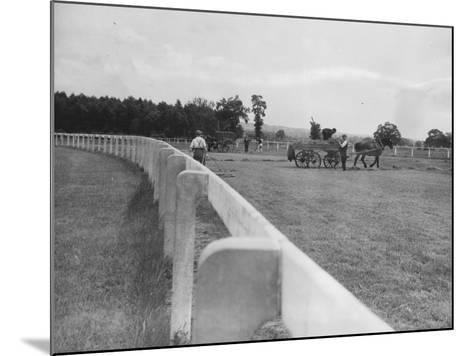 Newbury Race Course--Mounted Photographic Print