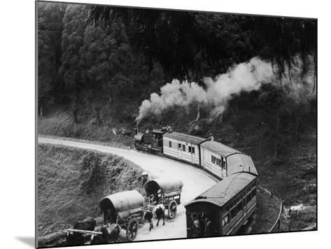Indian Hill Railway--Mounted Photographic Print