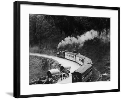 Indian Hill Railway--Framed Art Print