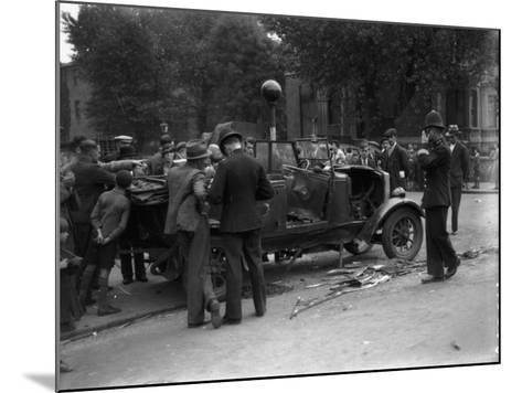 Cross Roads Chaos--Mounted Photographic Print
