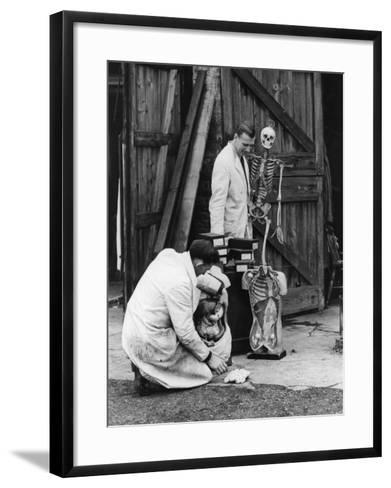 Displaced Doctors--Framed Art Print