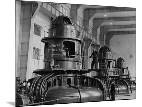 Electricity Plant--Mounted Photographic Print