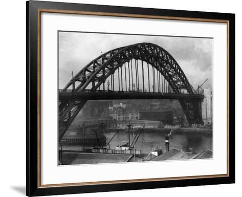 Newcastle Bridge--Framed Art Print