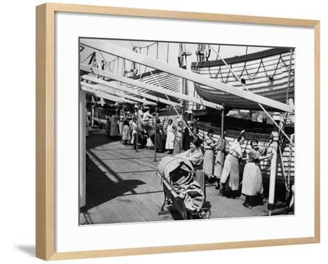 Tilbury Cleaners--Framed Art Print