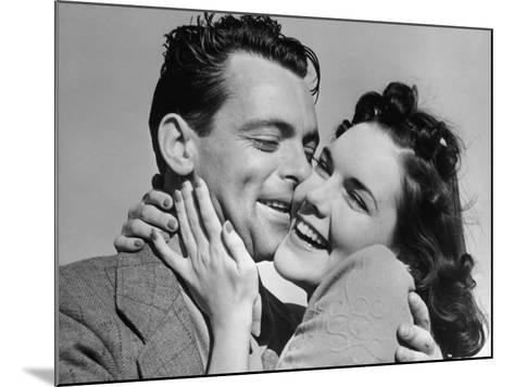 Couple Cheek-To-Cheek-George Marks-Mounted Photographic Print