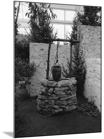 Stone Built Well-George Marks-Mounted Photographic Print