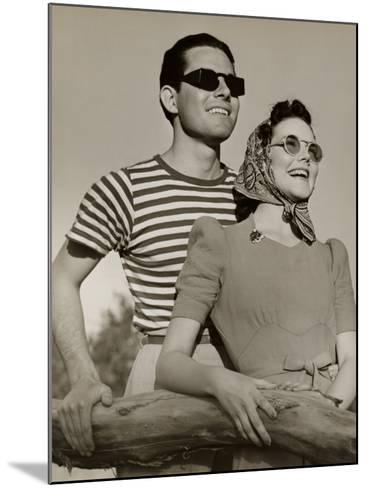Couple in Sunglasses-George Marks-Mounted Photographic Print