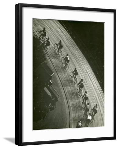 Bike Race-George Marks-Framed Art Print