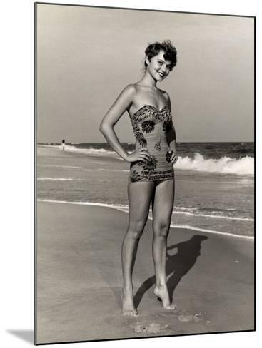 Woman at the Beach-George Marks-Mounted Photographic Print