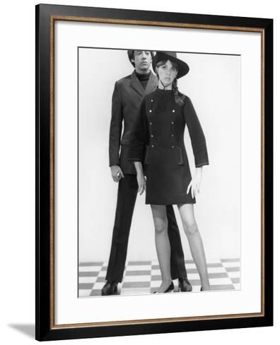 Mod Couple-George Marks-Framed Art Print