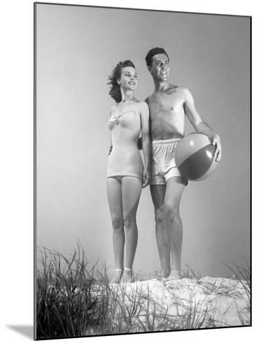 Couple at the Beach-George Marks-Mounted Photographic Print