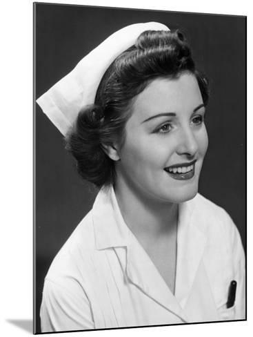 Nurse-George Marks-Mounted Photographic Print