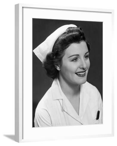 Nurse-George Marks-Framed Art Print