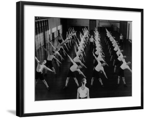 Military Exercise--Framed Art Print