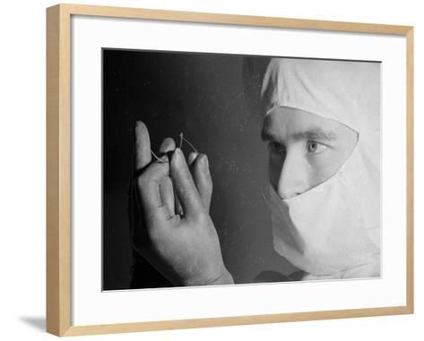 Surgeon's Suture--Framed Art Print