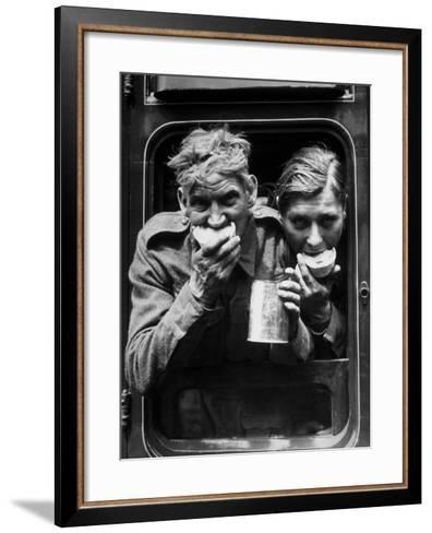 Hungry Soldiers--Framed Art Print