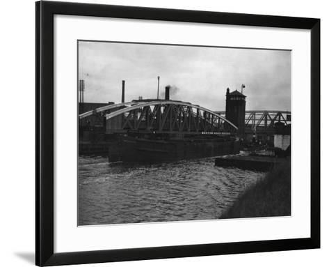 Manchester Ship Canal--Framed Art Print