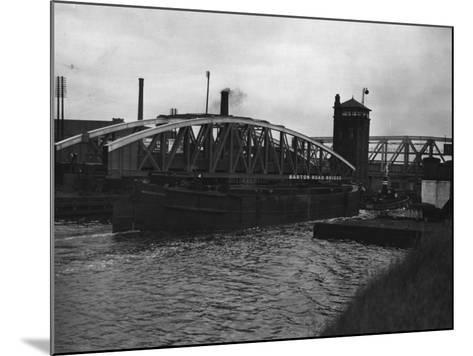 Manchester Ship Canal--Mounted Photographic Print