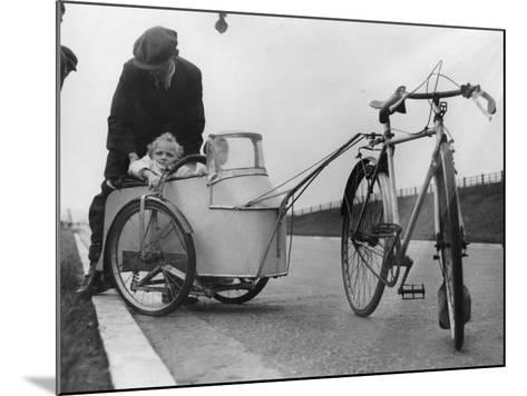 Bicycle Trailer--Mounted Photographic Print