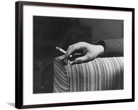 Cigarette Break--Framed Art Print