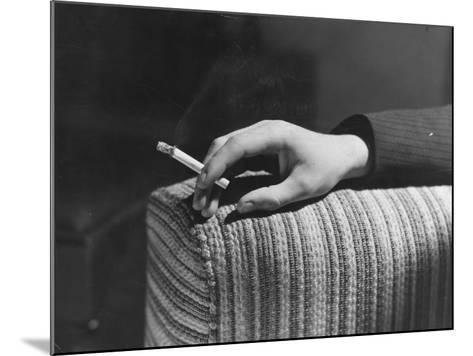 Cigarette Break--Mounted Photographic Print