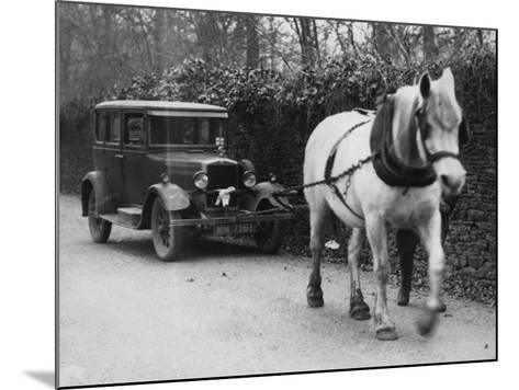 One Horse Power--Mounted Photographic Print