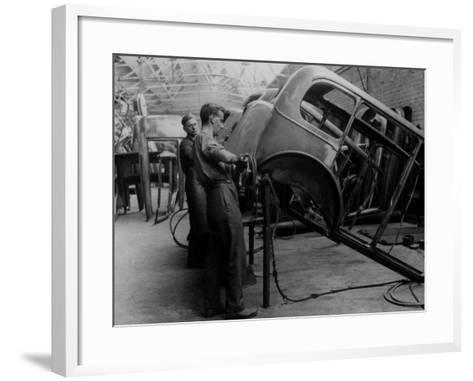 Body Building--Framed Art Print