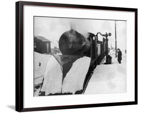 Lms Snowplough--Framed Art Print
