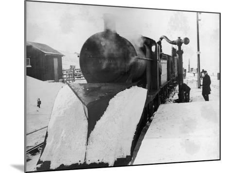 Lms Snowplough--Mounted Photographic Print