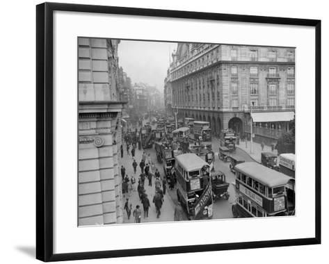 London Traffic--Framed Art Print