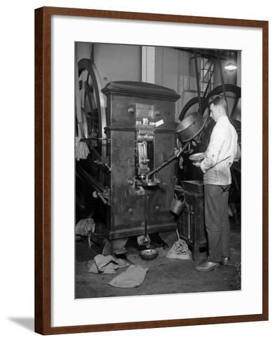 Minting Money--Framed Art Print