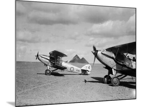 Raf in Cairo--Mounted Photographic Print