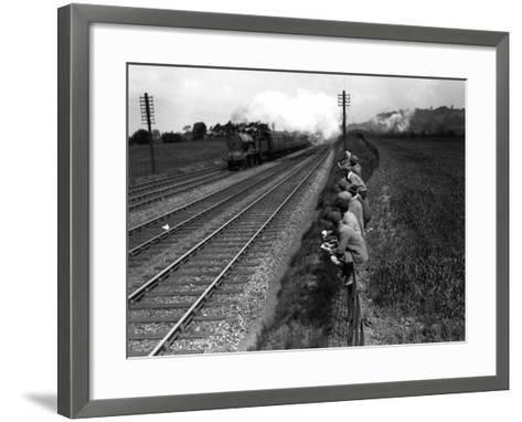 Trainspotting--Framed Art Print
