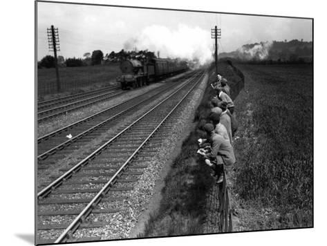 Trainspotting--Mounted Photographic Print