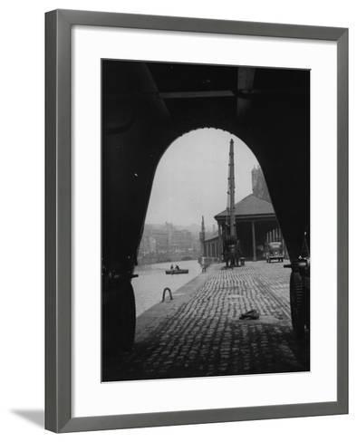 Bristol Dock--Framed Art Print