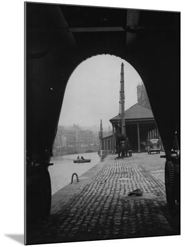 Bristol Dock--Mounted Photographic Print