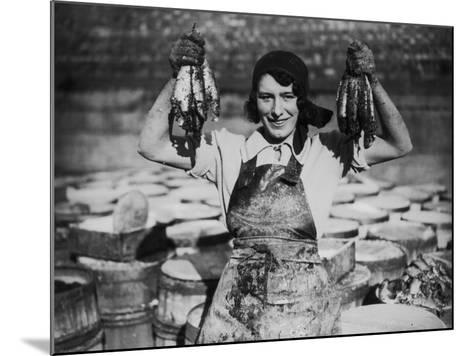 Fish Fingers--Mounted Photographic Print
