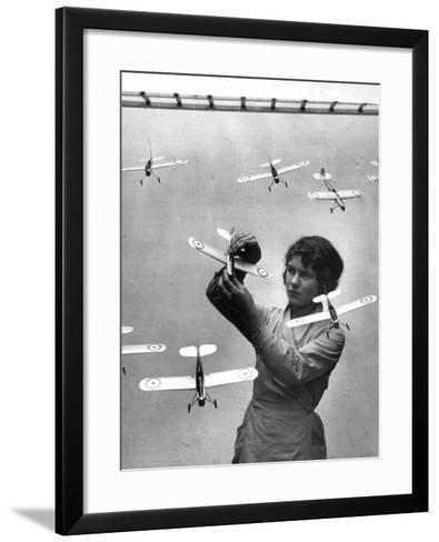 Model Planes--Framed Art Print