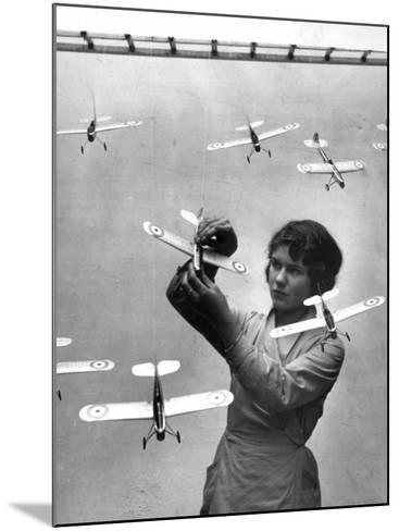 Model Planes--Mounted Photographic Print