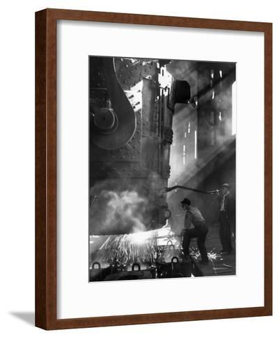 Steelworkers--Framed Art Print