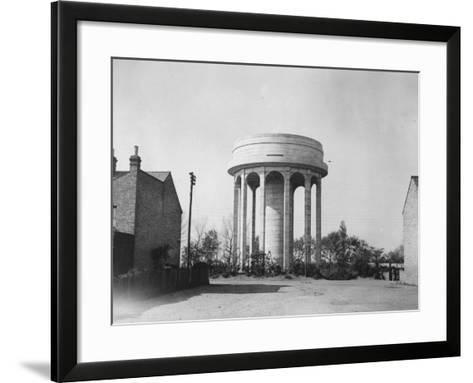 Water Tower--Framed Art Print