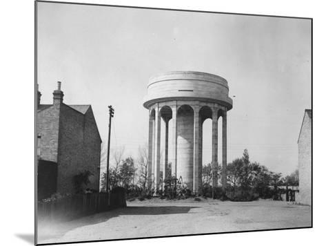 Water Tower--Mounted Photographic Print