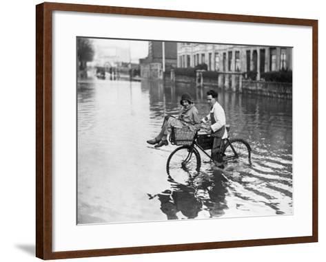 A Gentleman--Framed Art Print